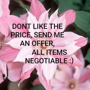 ALL Items Negotiable